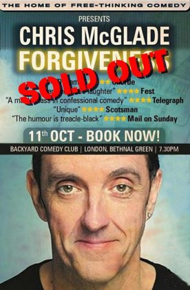Forgiveness 11 Oct SOLD OUT graphic